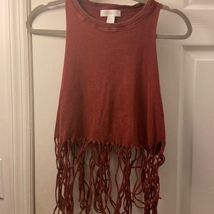 Forever 21 Crop Top with Strings